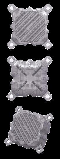 Muelle exceldock cubo flotante