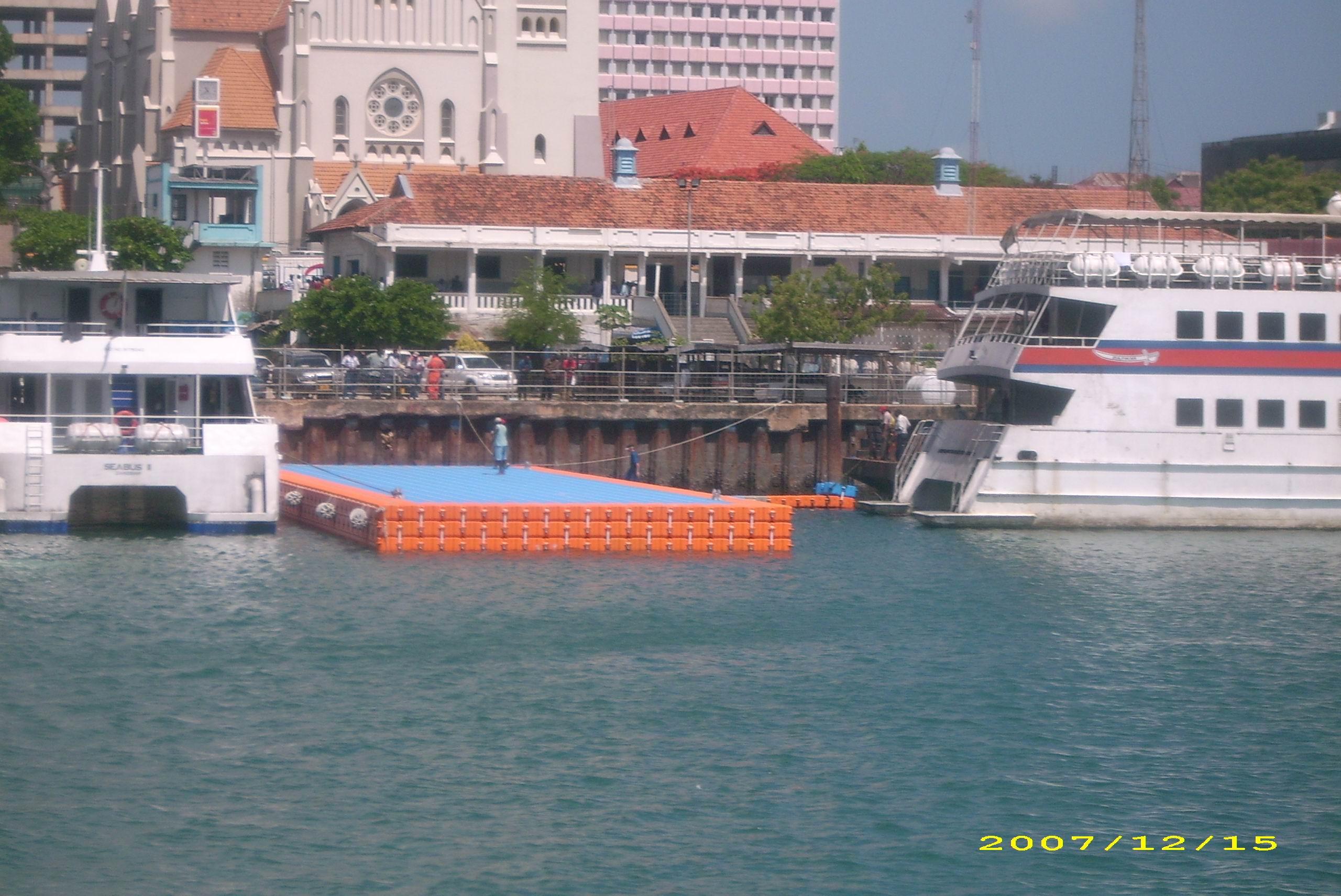 Embarcadero en 2 niveles