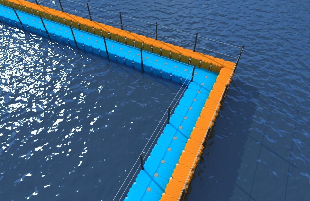 Muelle modular exceldock barrera