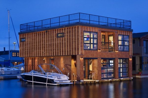 Casa flotante seattle