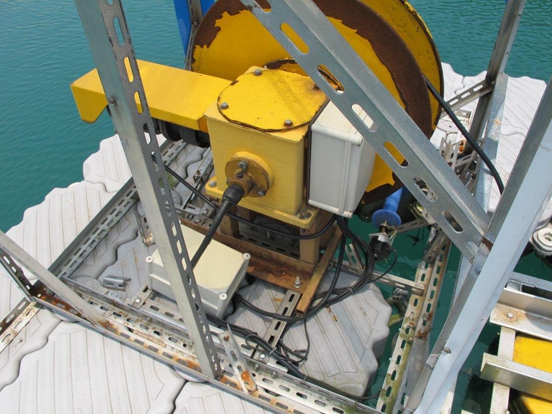 Muelle flotante industria