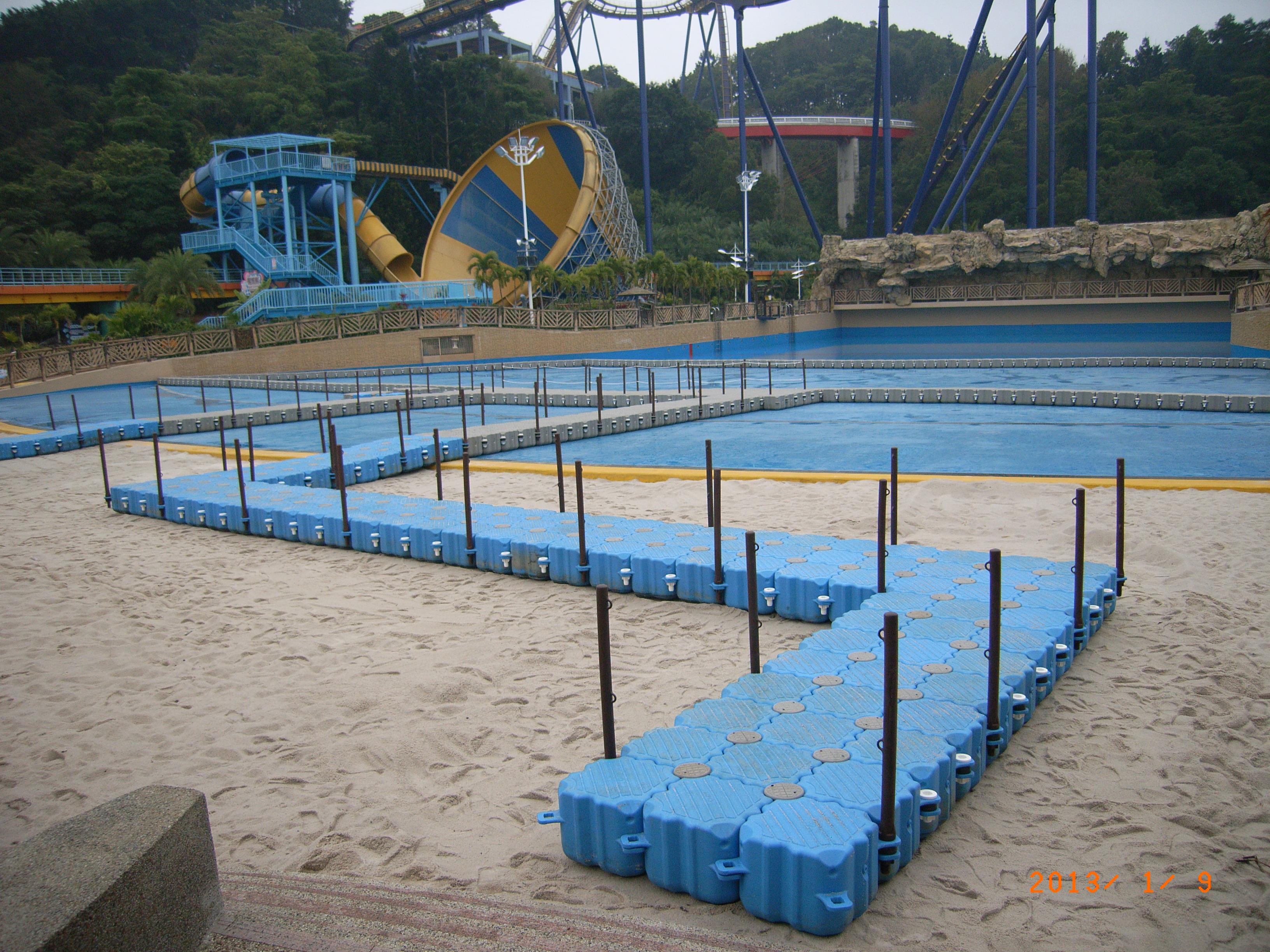 Muelle parques de diversiones