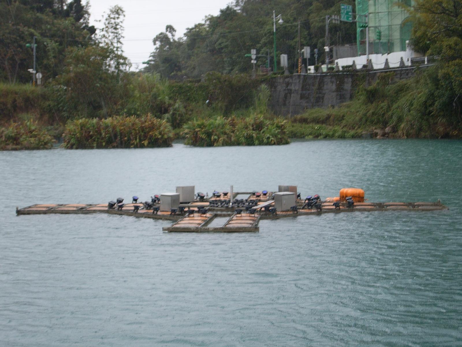 fuente flotante